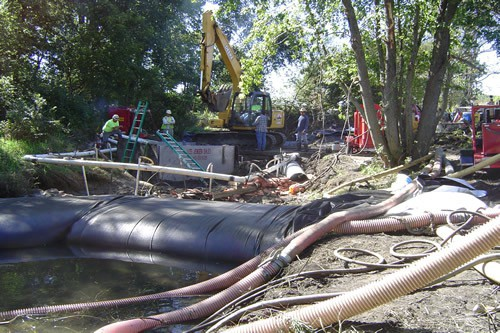 Affordable Water Filled Cofferdam 15