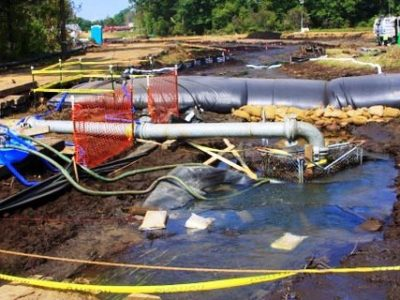 Cofferdam Enviornmental Remediation 20