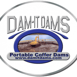 cofferdam and water filled dams
